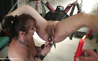 Hot Wax Game With My Male Slave - TacAmateurs