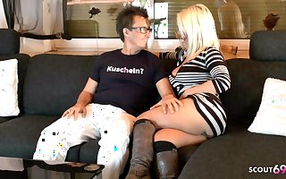 German Mature Primarily Remote Sex Date with Pornstar Conny Dachs