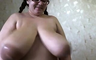 Monster tits milking