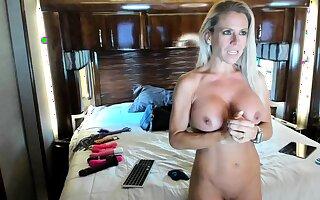 Hardcore solo masturbation hot blonde