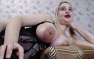 Busty Ukrainian Yana Sucks Nipples And Vibrates Pussy