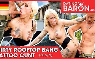 Harleen van Hynten gets some cock outdoors! Datingbaron.com