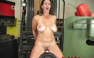 Dominate Grown up Milf Persia Monir Dirty Talking And Riding The Sybian To A Agitation Orgasm