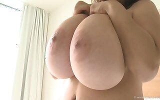 Morning Glory Boobs - Coarse tits on Liven up progenitrix