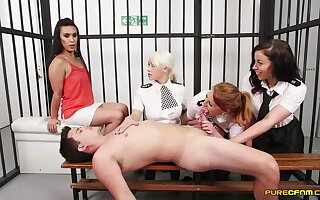 Pure women share a horseshit in the most intimate XXX kink