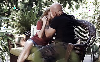 Bald dude rams this adored pamper in  crazy XXX action