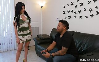 Quickie fucking in the kitchen at hand quibbling become man Kitty Caprice