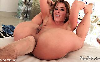 Sheena Shaw & Manuel Ferrara in Sheena Shaw Spreads Her Ass Wide For Manuel's Huge Cock - KINK