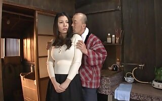 Quickie fucking at home here order about Japanese housewife Sophia Takigawa