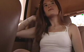 Small titty amateur strumpet mckenzie blasted on her face