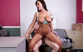 Fucked Hard In Office With Lisa Ann