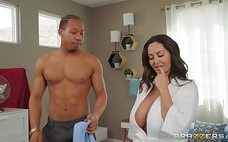 Buxom mommy Ava Addams wants his huge clouded pecker