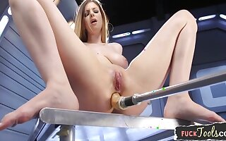 Be in charge Machine Loving Babe Spreading Her Legs 10 Min