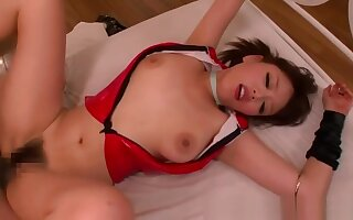Japanese wife big tits cosplay go for sperm