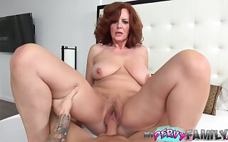 Hot Mature Mama Wants To Have a go Hard Dick Laddie Fill Her Pussy Anent Big Cock - Huge Boobs