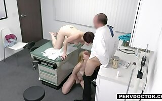 Dr. Baldy prescribes his Penis for Pretty good Teen