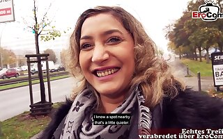 German turkish teen bitch public street casting pick up danka daimond
