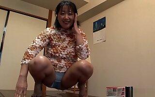 Crazy Japanese girl in Hottest Blowjob, Mature JAV scene
