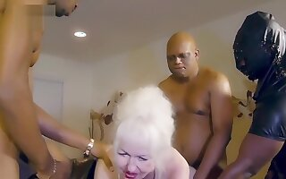anyone knows her name? granny milk bbc black