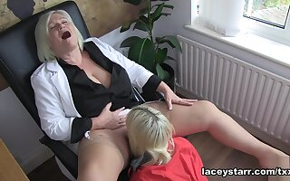 Cherry English & Lacey Starr in Dr. Lacey Sex Therapist #2 - Episode #5 - LaceyStarr