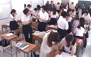 Groping Parent in classroom