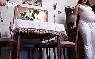 FUN MOVIES Amateur and Pregnant German Lesbians