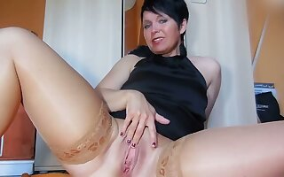 This woman has perfect the art of self pleasuring and I love say no to big tits