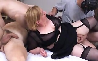 Fat grown up homemade orgy