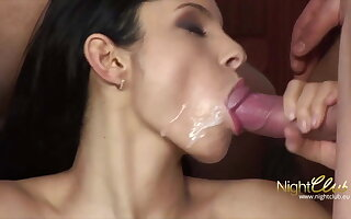 Hotwife takes 2 cocks and 2 cumshots