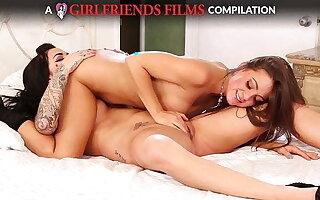 Lesbian 69 Compilation - GirlfriendsFilms