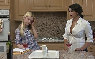 Outcast lesbian escape, featuring Missy Martinez and Kennedy Kressler