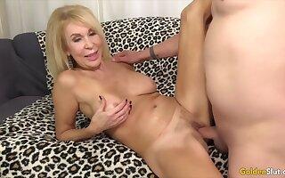 Golden Slut - Amazing Mature Blondes Getting Drilled Compilation Part 7