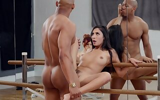 Molly Stewart watches as dancer Gianna Dior fucks for a lead province