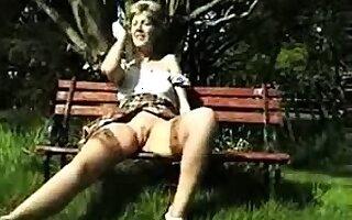 Stockings unskilled mature slut in heels