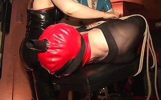 Patricia MedicalySado & Anna & Precocity Slut in Feminization Together with Ropes - KINK
