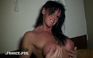 Socking Titted Milf Hard Nailed In Pov