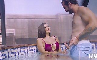 Spanish Babe Screwed in Her Bikini - Steadfast Fuck