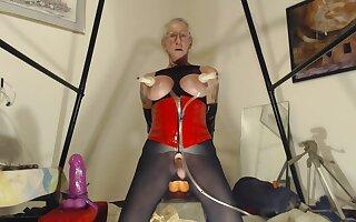 Granny Bobbie Goes massive