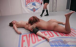 A difficulty Hands on this Ebony Goddess Destroys this Girl's Ass - KINK